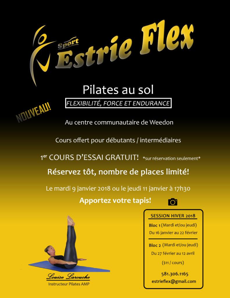 Nouveau cours – Pilates au sol