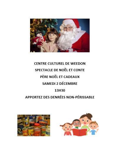 Centre Culturel de Weedon – Noël des enfants