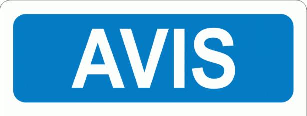AVIS À TOUS