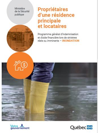 Aide financière aux sinistrés des inondations