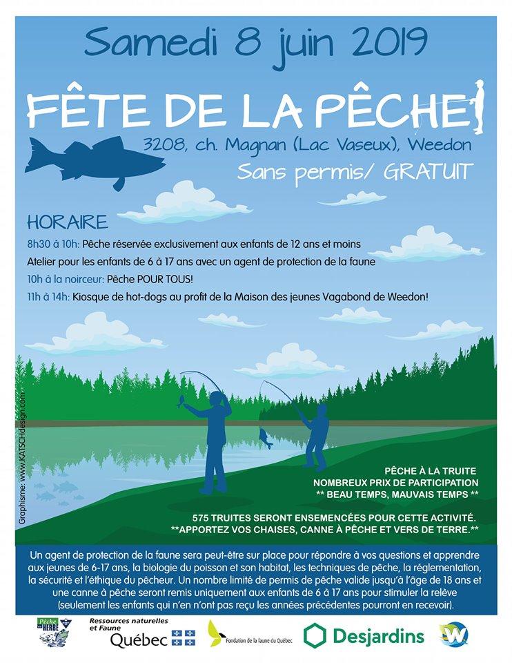 Fête de la pêche – 8 juin 2019