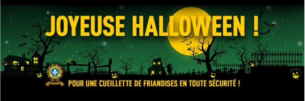 Communiqué Halloween – Sûreté du Québec