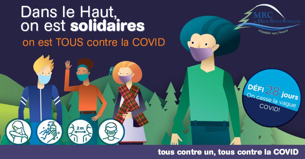GRANDE MOBILISATION RÉGIONALE CONTRE LA COVID-19