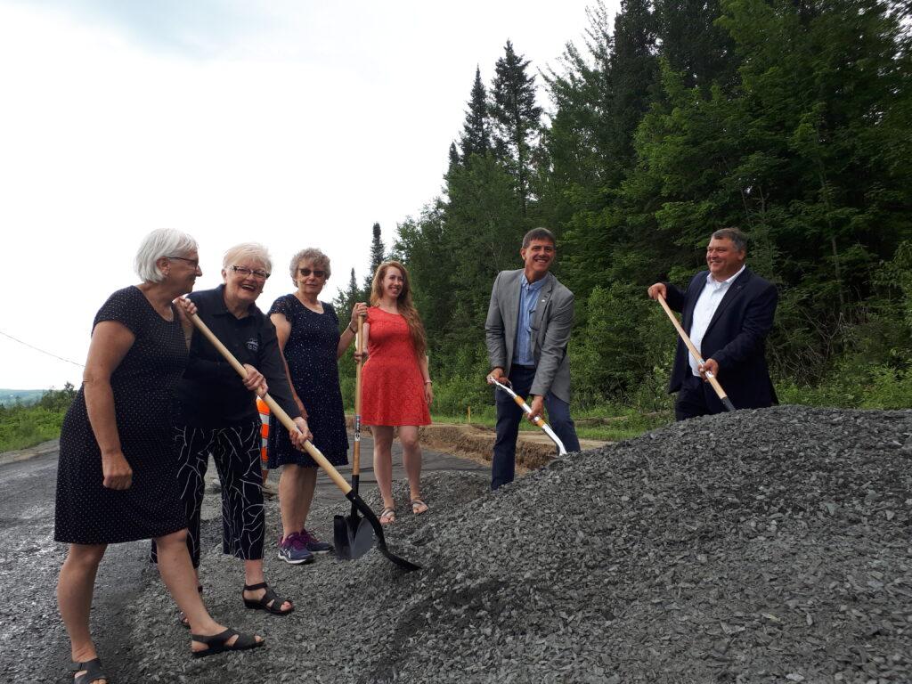 Communiqué : Lancement officiel des travaux de réfection de la route 257 dans le Haut-Saint-François