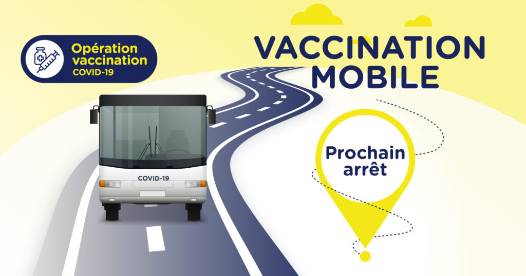 Clinique de vaccination mobile – 13 août 2021