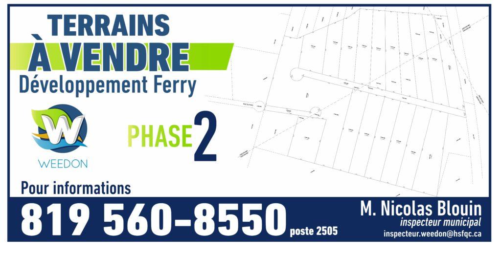 Développement Ferry – Phase II